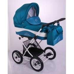 09 - Детская коляска Lonex JULIA BARONESSA 3 в 1