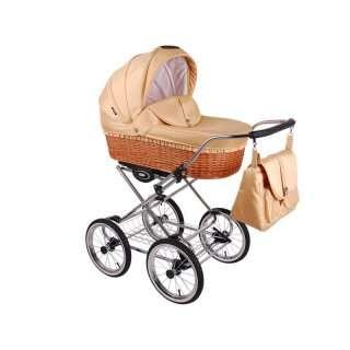 Детская коляска 3 в 1 Lonex Classic Retro
