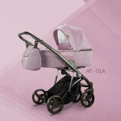 AT 01 - Детская коляска Mirelo AT 3 в 1