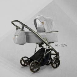 AT 02 - Детская коляска Mirelo AT 3 в 1