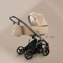AT 03 - Детская коляска Mirelo AT 3 в 1