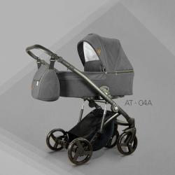 AT 04 - Детская коляска Mirelo AT 3 в 1