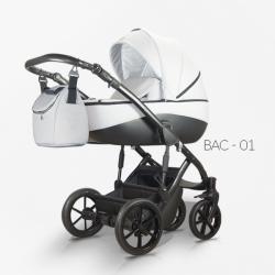 Bacio 01 - Детская коляска Mirelo Bacio 2 в 1