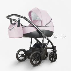 Bacio 02 - Детская коляска Mirelo Bacio 2 в 1