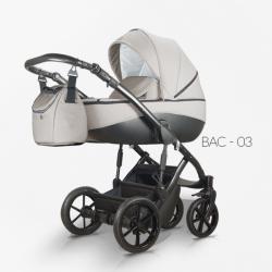 Bacio 03 - Детская коляска Mirelo Bacio 2 в 1