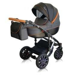 color - 26 - Детская коляска Mirelo Venezia Premium Black 3 в 1