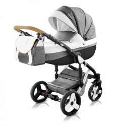 color - 42 - Детская коляска Mirelo Venezia Premium Black 3 в 1