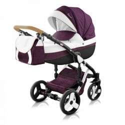 color - 44 - Детская коляска Mirelo Venezia Premium Black 3 в 1