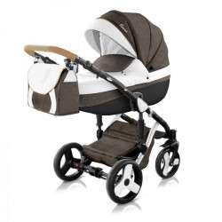 color - 46 - Детская коляска Mirelo Venezia Premium Black 3 в 1