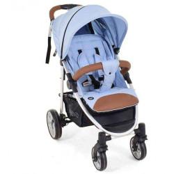 Azzurro-Argento - Детская коляска Nuovita Corso прогулочная