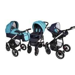 aqua - Детская коляска Noordline Beatrice (3 в 1) ALU NEW