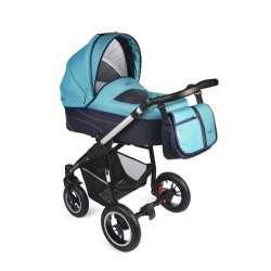 aqua - Детская коляска Noordline Beatrice (2 в 1) ALU