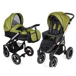 green - Детская коляска Noordline Beatrice (2 в 1) ALU