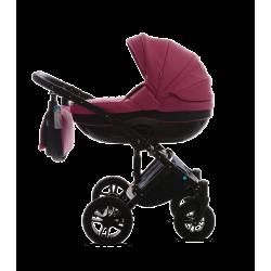 Розовый - Детская коляска Noordline Stephania 3 в 1 ECO