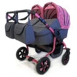 02 - Детская коляска Polmobil Terra 2 в 1