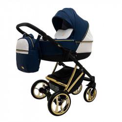 sinya_koza_belaya_koza - Детская коляска RAY Agix 3 в 1