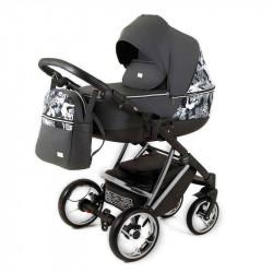 gray - Детская коляска RAY Agix 3 в 1