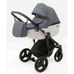 4 Графит Серый - Детская коляска RAY Corsa 3 в 1