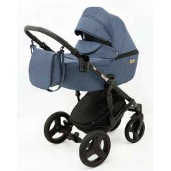 11 Синий лен - Детская коляска RAY Corsa 3 в 1