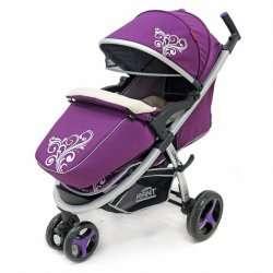 violet - Детская коляска Rant Lunar
