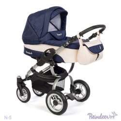N5pov - Детская коляска Reindeer Nova 3 в 1
