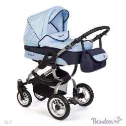 N7pov - Детская коляска Reindeer Nova 3 в 1