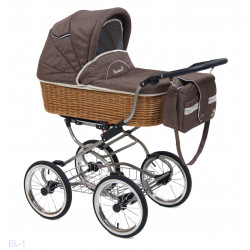 El-1 - Детская коляска Reindeer Wiklina Eco-Line (люлька)