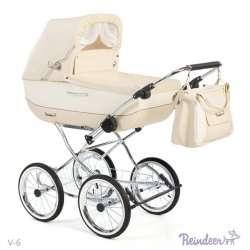 V-6 - Детская коляска Reindeer Vintage (люлька)
