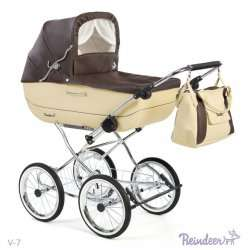 V-7 - Детская коляска Reindeer Vintage (люлька)