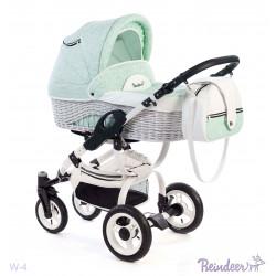 W4 pk - Детская коляска Reindeer Wiklina 3 в 1