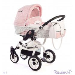 W5 pk - Детская коляска Reindeer Wiklina 3 в 1