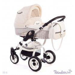 W6 pk - Детская коляска Reindeer Wiklina 3 в 1