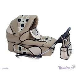 M-2 - Детская коляска Reindeer Mega (2 в 1)