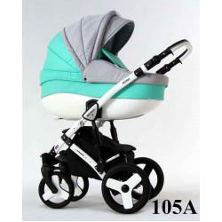 105a - Детская коляска Retrus Dynamic 3 в 1