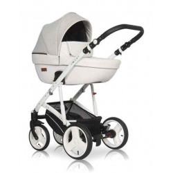 01 серый-белый - Детская коляска Riko Basic Aicon 2 в 1