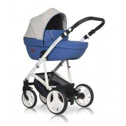 03 серый-синий - Детская коляска Riko Basic Aicon 2 в 1