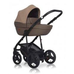 10 бежевый-коричневый - Детская коляска Riko Basic Aicon 2 в 1