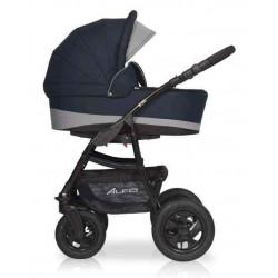 05 серый-графит - Детская коляска Riko Basic Alfa 2 в 1