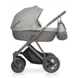 01 серый - Детская коляска Riko Basic Quanto 2 в 1