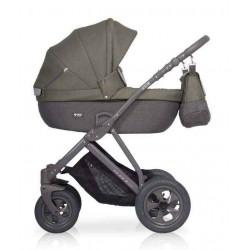 03 серый-оливковый - Детская коляска Riko Basic Quanto 2 в 1