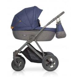 05 серый-синий - Детская коляска Riko Basic Quanto 2 в 1