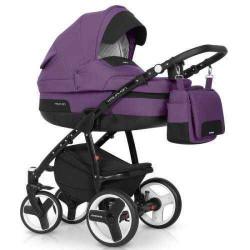 plum-7 - Детская коляска Riko Re-Flex 2 в 1