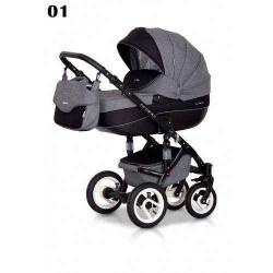 01 - Детская коляска Riko Brano 3 в 1