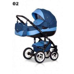 02 - Детская коляска Riko Brano 3 в 1