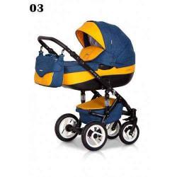 03 - Детская коляска Riko Brano 3 в 1