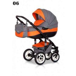 06 - Детская коляска Riko Brano 3 в 1