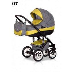 07 - Детская коляска Riko Brano 3 в 1