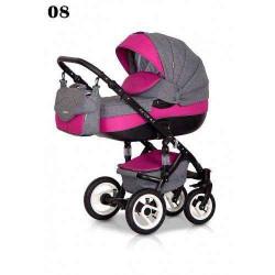 08 - Детская коляска Riko Brano 3 в 1