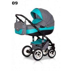 09 - Детская коляска Riko Brano 3 в 1