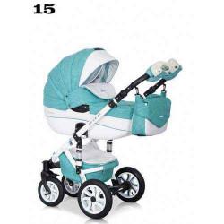 15 - Детская коляска Riko Brano Ecco 3 в 1